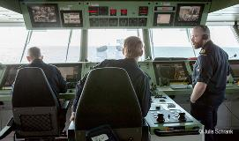 In control of the ship