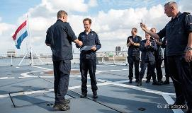 The crew of the Dutch navy